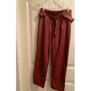 Pants - Faux Leather Pants